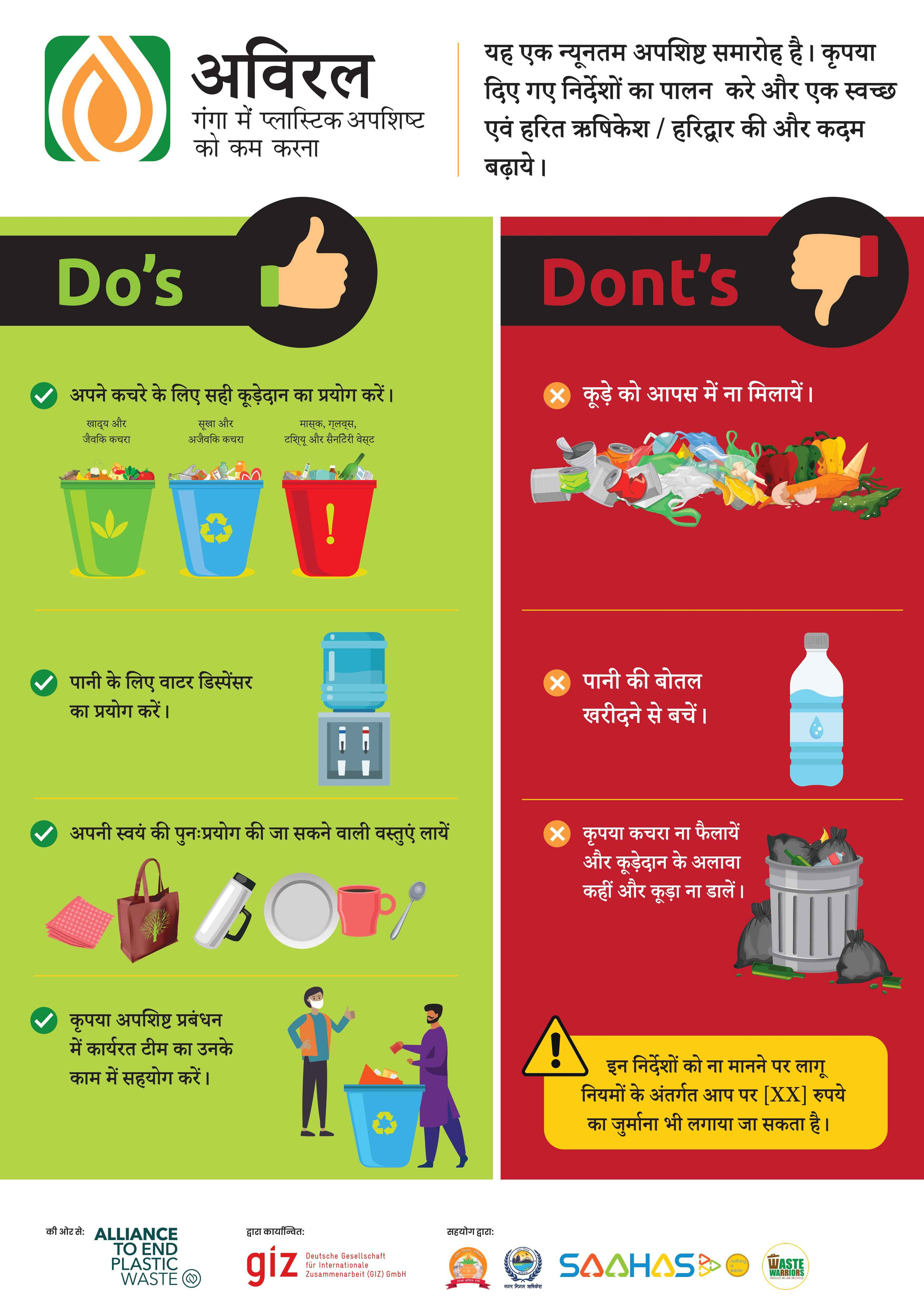 Dos and Donts Poster